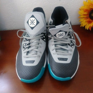 WOW4 blue/gray sneakers men's shoes size 15